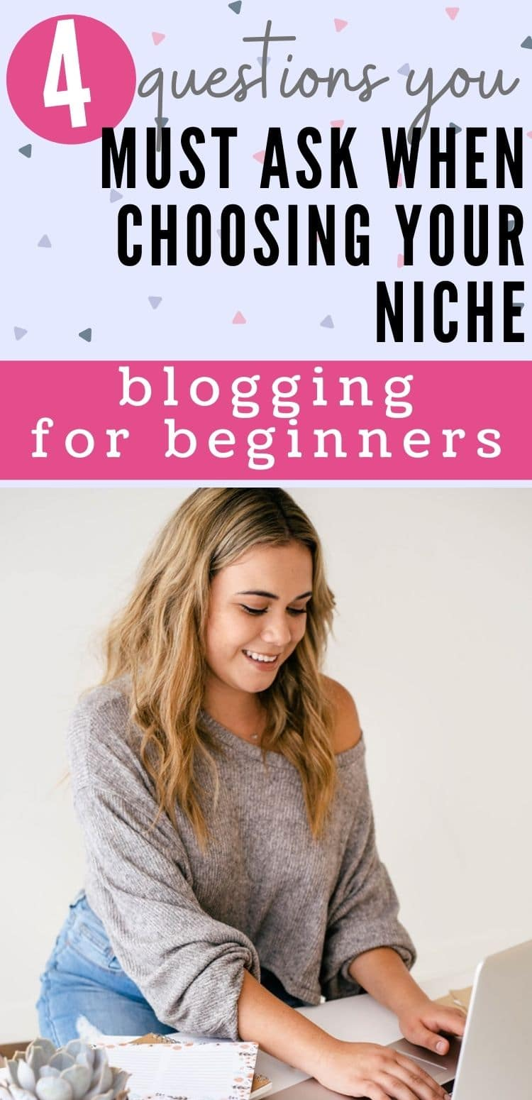 choosing your niche