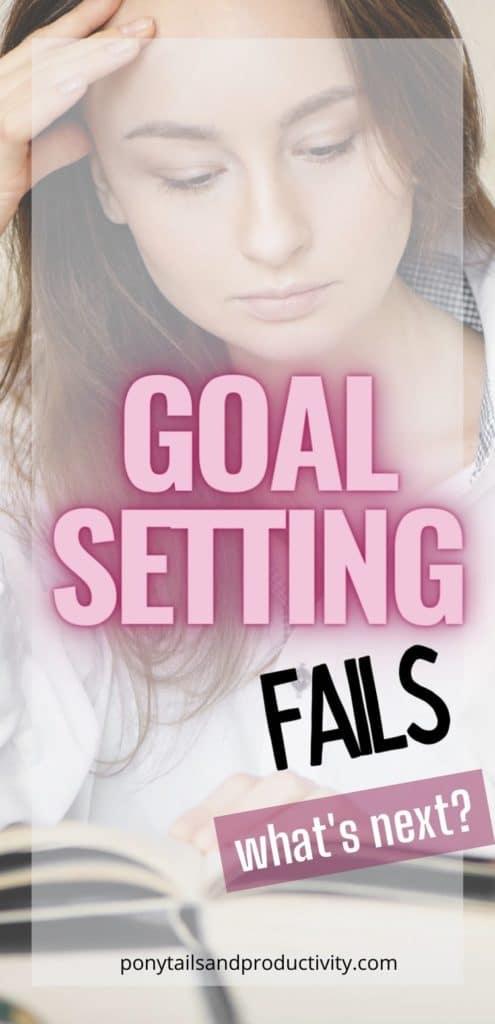 goal setting fails