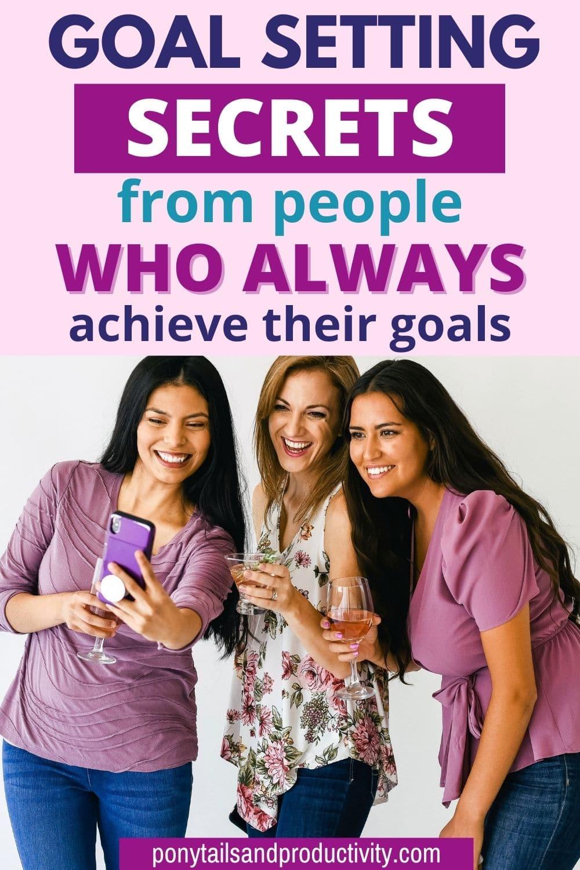 goal setting secrets
